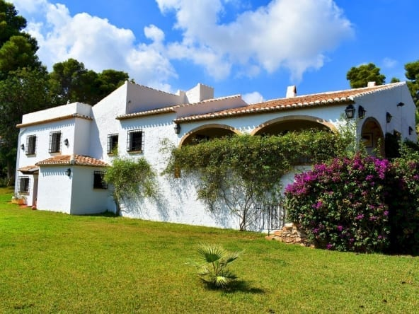 7 bed villa in Javea