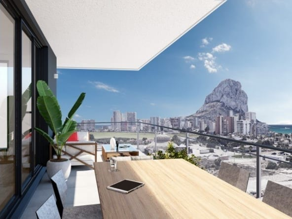 New Apartment in Calpe